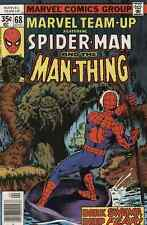 MARVEL TEAM UP SPIDER MAN AND MAN THING #68 VERY FINE (1st series 1978)