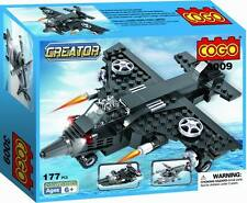 Skybolt Transformer 3 in 1 Airplane Helicopter Army Boats Fighter Building Block