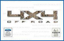 09 -- 14 Ford 4x4 Off Road RealTree Camo Decals Stickers AP F150 F250 Super Duty