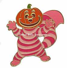 DISNEY AUCTIONS Pin LE 500 - Cheshire Cat Pumpkin Head