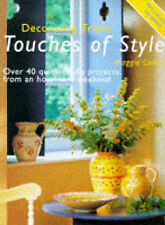 Decorating Tricks: Touches of Style,GOOD Book