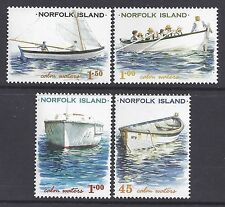 2001 NORFOLK ISLAND CALM WATERS LOCAL BOATS FINE MINT SET OF 4 MNH/MUH