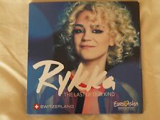 EUROVISION 2016 SWITZERLAND CD PROMO, RYKKA,THE LAST OF OUR KIND