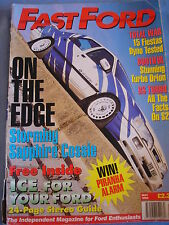 Fast Ford May 1995 - sapphire Cosworth- Orion - 15 fiestas dyno