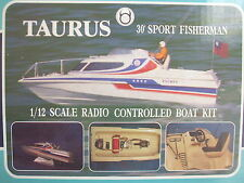 TAURUS 1/12 scale Radio Controlled Boat Kit - IMEX Model Co. - New & Complete