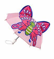 Heless Puppenzubehör, Regenschirm mit Tiermotiv, Schmetterling