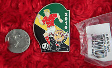 Hard Rock Cafe Pin COPENHAGEN World Cup SOCCER Flag Football Puzzle ball player