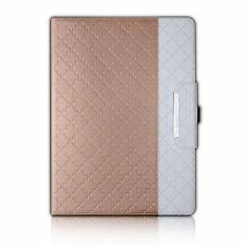 Apple iPad Pro 12.9 Case Rotating Leather Build-in Pencil Holder Wallet Pocket