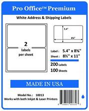 PO13 Pro Office Premium 300 Round corner Self Adhesive Shipping Label 5126 Fedex