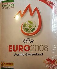 EURO 2008 STICKER COLLECTION ALBUM & ALL STICKERS TO COMPLETE THE ALBUM NEW
