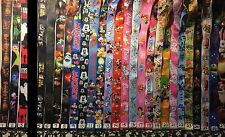 Lot of 3 Lanyards + ID Pouch Good For Disney Pin Trading Vacation Neck Strap