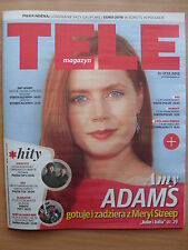 AMY ADAMS on front cover TELE MAGAZYN 50/2015 in.Benedict Cumberbatch,M.Freeman