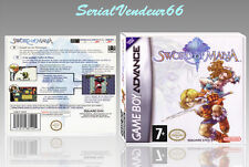 "BOITIER DU JEU ""SWORD OF MANA"", GAME BOY ADVANCE, FR. SANS LE JEU."