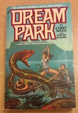 DREAM PARK Larry Niven Steven Barnes Book (Paperback) FIRST EDITION