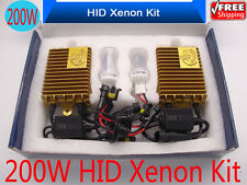 200W H4 H7 H3 H11  HID Xenon Headlight Conversion Kit Car Bulbs Lamp Light White