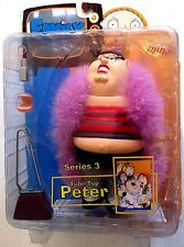 Family Guy Series 3 Action Figure 2005 Tube Top Peter by Mezco Toys