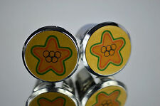 Olmo gold Handlebar Plugs plug Caps Topes Tapones bouchons endkappe Tappi