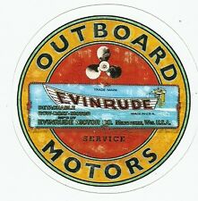 EVINRUDE OUTBOARD MOTORS  Sticker Decal