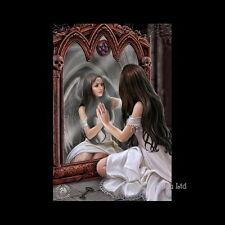 *MAGICAL MIRROR* Goth Fantasy Magic Art 3D Postcard By Anne Stokes (15x10cm)