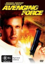 Avenging Force DVD MICHAEL DUDIKOFF FREE LOCAL POST NEW SEALED REGION 4