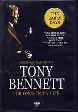 TONY BENNETT - FOR ONCE IN MY LIFE (DVD) NEU & OVP