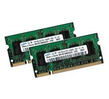 2x 1gb 2gb RAM Samsung memoria MSI megabook l740 l745 m660 ddr2 667 MHz