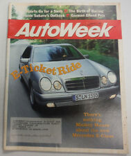 Autoweek Magazine BMW's X5 November 1999 072415R