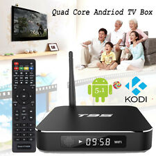 T95 S905 Amlogic Android 5.1 Quad-Core WiFi 4K Smart TV BoX HD Media player HDMI