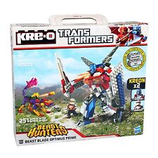 Hasbro KRE-O A2203 TRANSFORMERS Beast Hunters Optimus Prime 2in1 Bausteine-Set