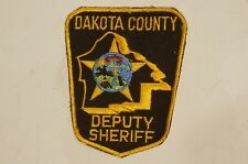 US Dakota County Deputy Sherrif Police Patch Obsolete