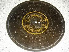 """An der schönen blauen Donau 24cm Symphonion Blechplatte music box 9 1/2"""" disc"""