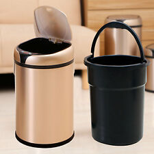 Stainless Steel Automatic Sensor Dustbin Rubbish Waste Bin Kitchen Trash Can