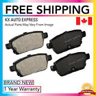 FRONT & REAR CERAMIC BRAKE PADS FORD FUSION 2006 2007 2008 2009 2010 2011 2012