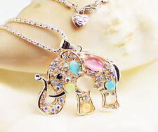 New fashion lovely  elephant necklace Christmas gift k316