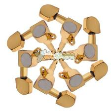 Set of 6 Pcs Gold Acoustic Guitar Machine Heads Tuners 3L/3R