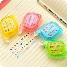 School Supply Decorative Tape Sticker Student Stationery Push Correction Tape