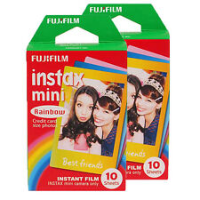 Fujifilm Instax Mini Instant Cartoon Film Rainbow 20pcs for Mini 7s 8 25 50s 90