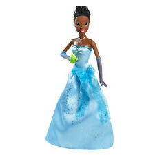 Disney Light Up Musical talking Tiana Doll 'Just One Kiss' Princess & the Frog