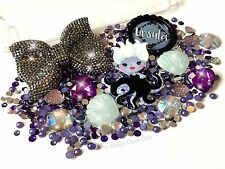Ursula Villain Character Decoden Kit - XL Bow Jewels Shell Cabochons Pearls Gems