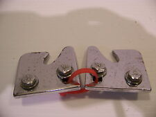 1964 1965 PLYMOUTH BARRACUDA REAR SEAT LATCH CATCHES OEM CHROME MOPAR