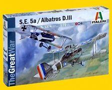 a ITALERI 1374 - S.E. 5a   e   ALBATROS D.III  (Scala 1/72)