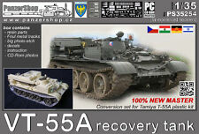 VT-55A Recovery tank 1/35 PanzerShop PS35254 Tamiya T-55 conversion resin set