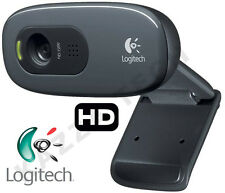 Logitech C270 HD 720p 3MP WebCam USB 2.0 Clip-On Video Calling Calls 1280x720 PC