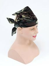 CAMOUFLAGE  ARMY MILITARY SOLDIER FANCY DRESS ACCESSORY