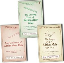 The Secret Diary Of Adrian Mole Collection 3 Books Set Pack By Sue Townsend