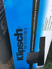 Klipsch HD Theater SB 3 CE Sound Bar & Subwoofer Full Warranty