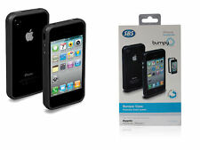 SBS BUMPER CUSTODIA CASE per APPLE IPHONE 4 4G 4S NERA