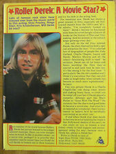 Bay City Rollers, Derek Longmuir, Full Page Vintage Clipping