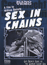 Sex in Chains Gay-Themed Films of the German Silent Era
