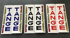 TANGE MEGA FORCE FORK DECALS - 1 pair, your choice of 3 Colors